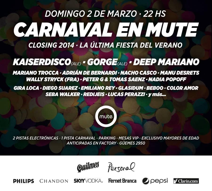 carnaval en mute