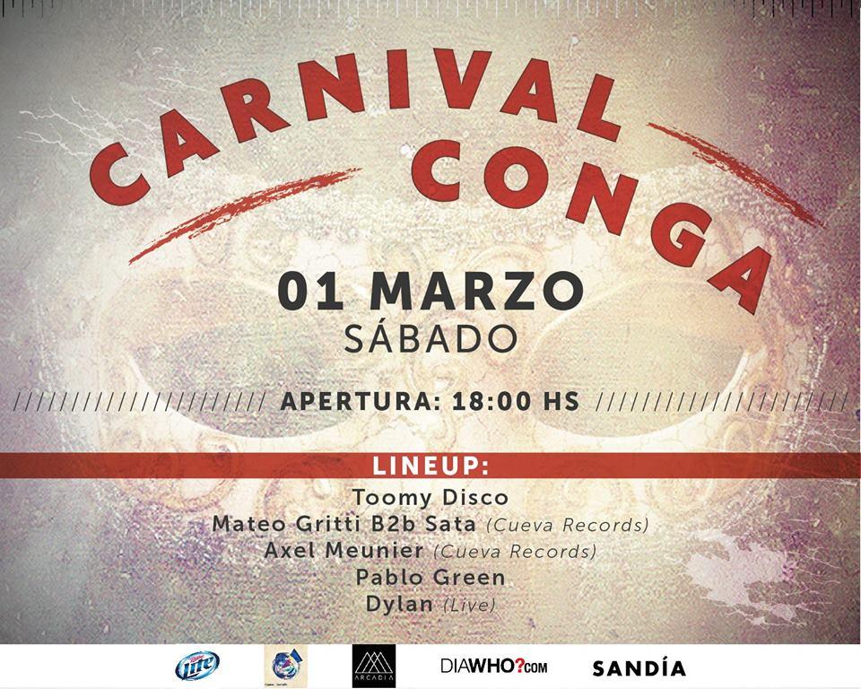 carnival conga 2014