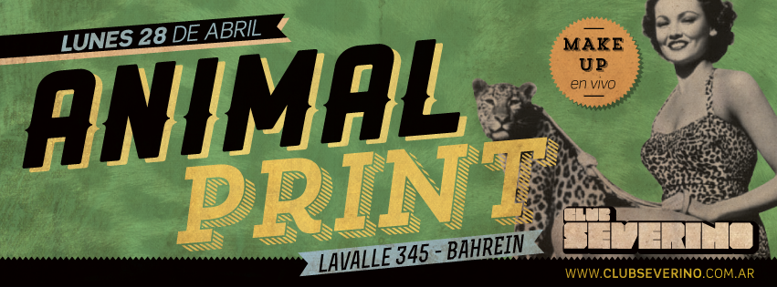 Danzeria- Animal Print