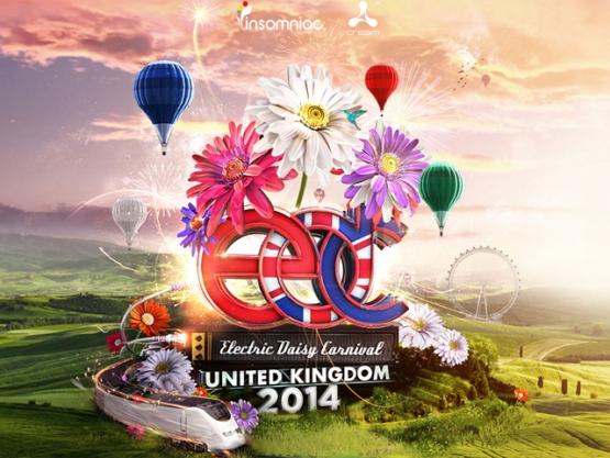 Danzeria - Electric Daisy Carnival UK 2014