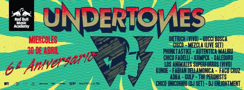 Danzeria- Undertones 6to ani