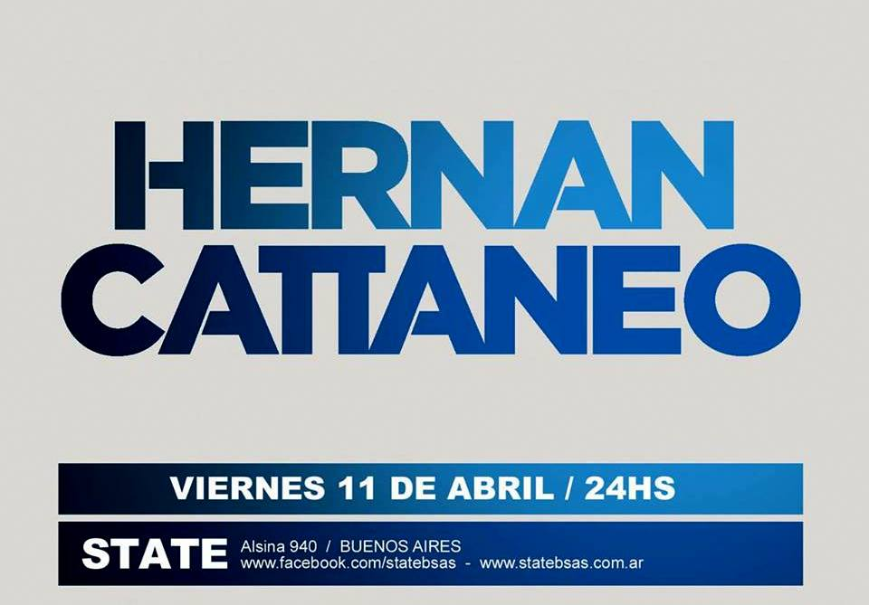 Hernan Cattaneo @ State