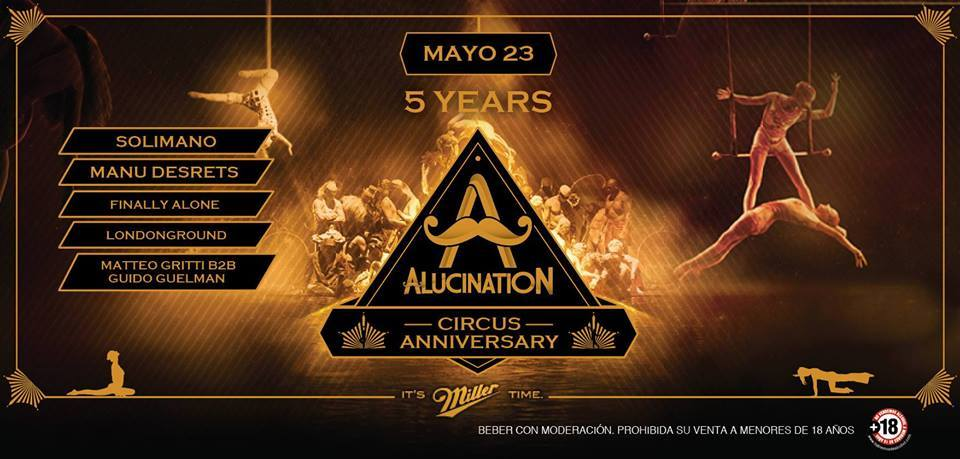 Alucination 5 years