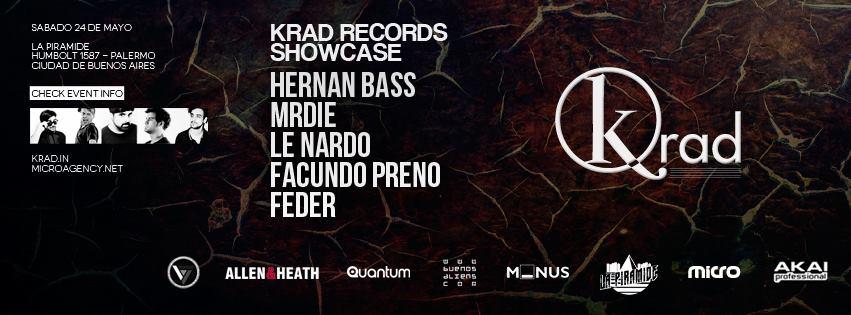 Krad Records Showcase