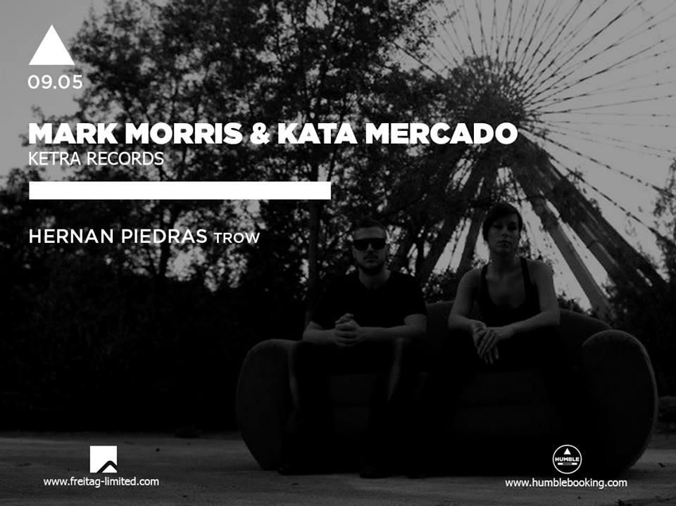 Mark Morris & Kata Mercado @ Under Club