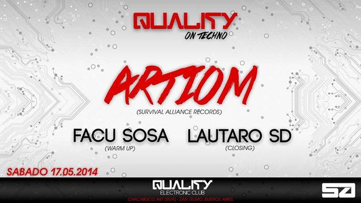 Quality On Techno @ Quality Electronic Club