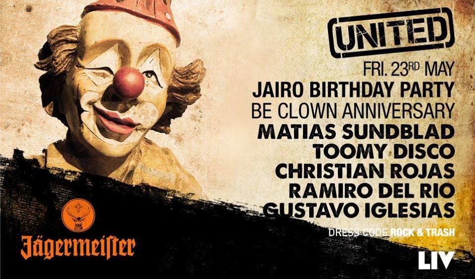 united 23 de may