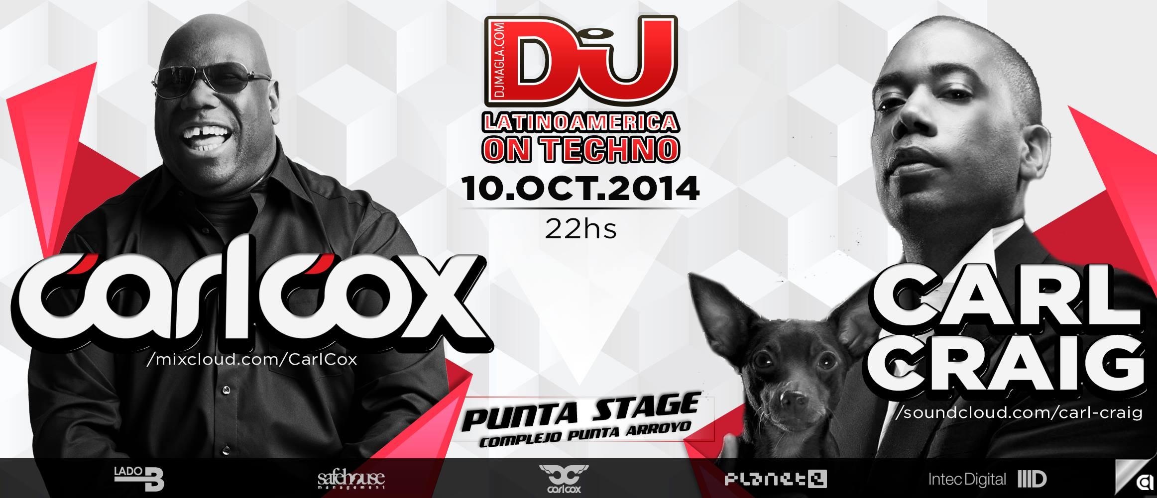 Carl Cox- Punta stage