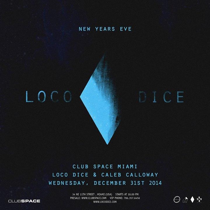 Club space Miami 31.12.14