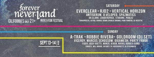 Forever Never Land Festival 2014
