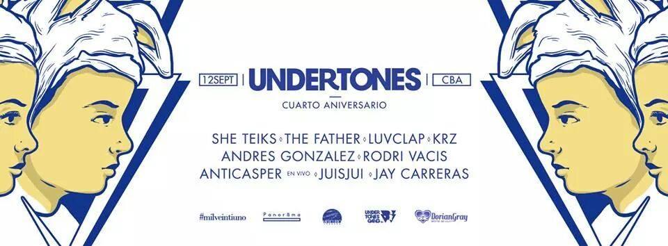Undertones- cordoba 12.09