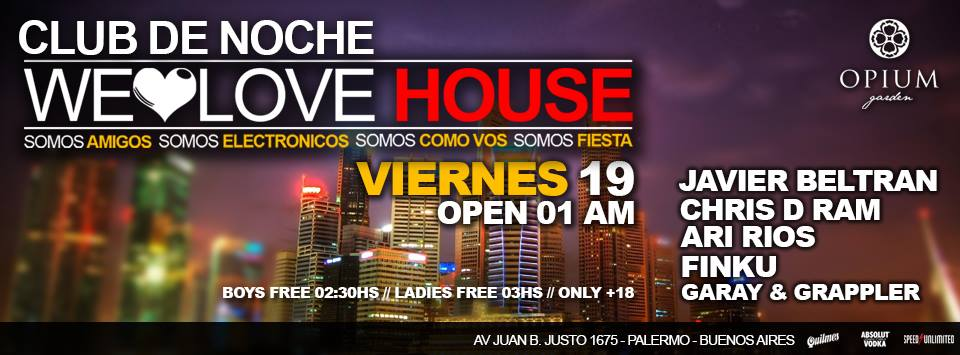 We love house 19.09