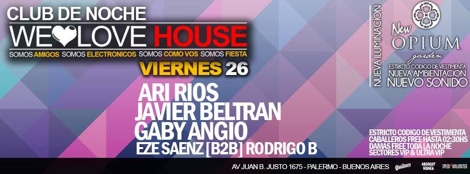 We love house 26.09