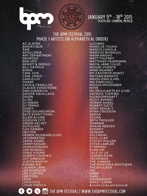 BPM Festival phase-1