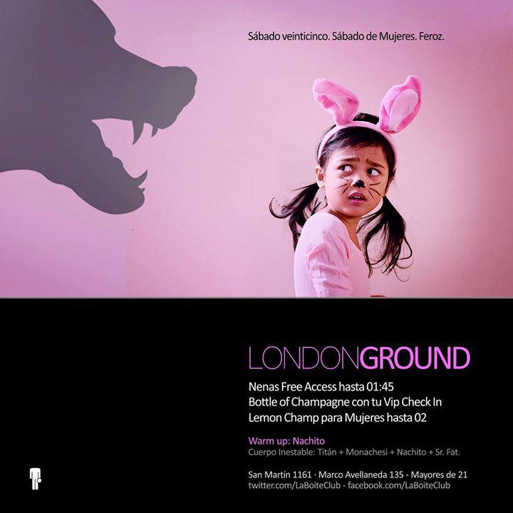 La Boite Tucuman 25.10 - Londonground