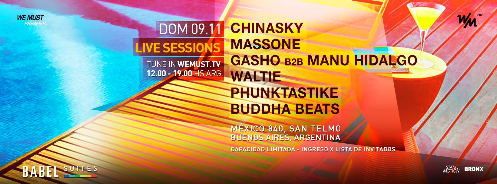We must Live sessions 09-11