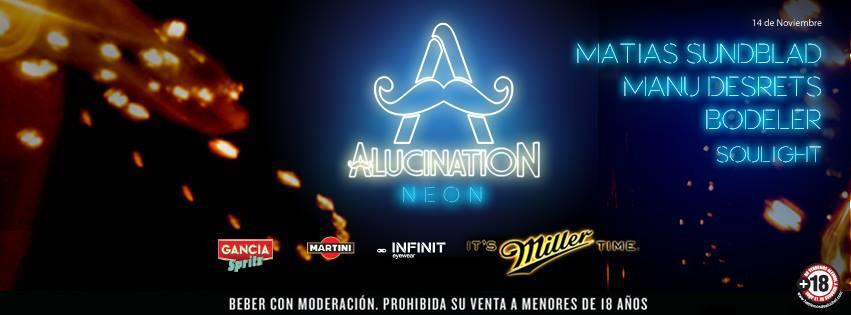 Alucination Neon Party 14.11