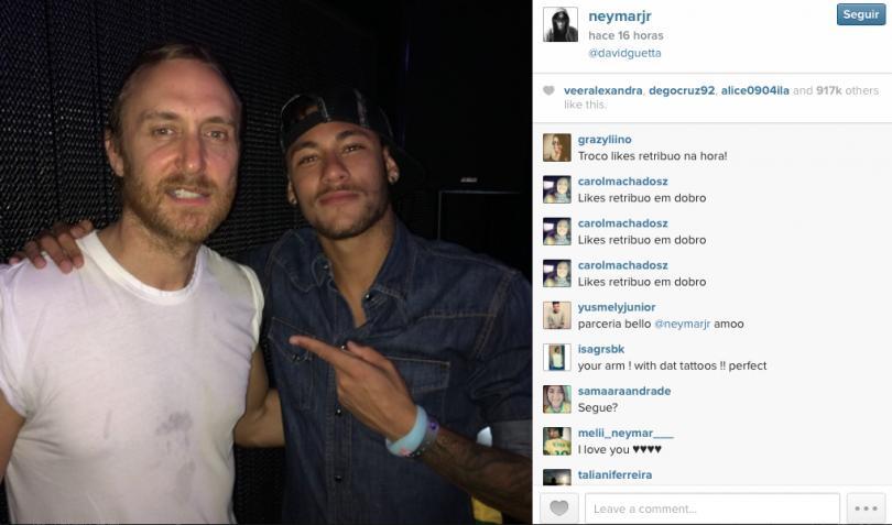 Guetta y Neymar Jr