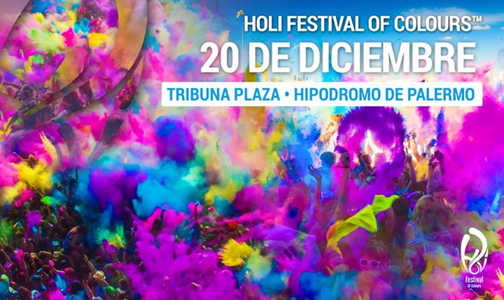 Holi Festival Of Colors Buenos Aires