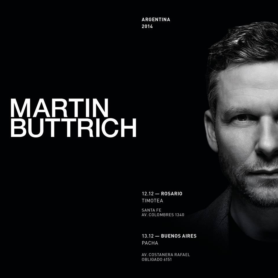 martin buttrich en la Argentina