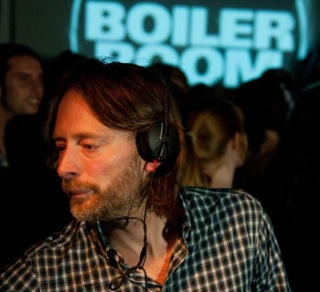 Thom Yorke's Boiler Room No.69 / Via Yorke's Tumblr