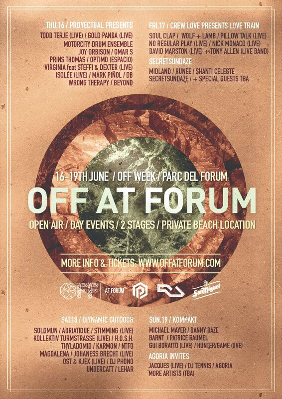 OFF AT FORUM