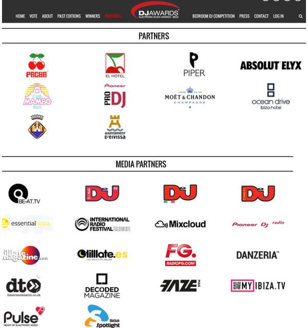 media partnes dj awards ibiza 2016