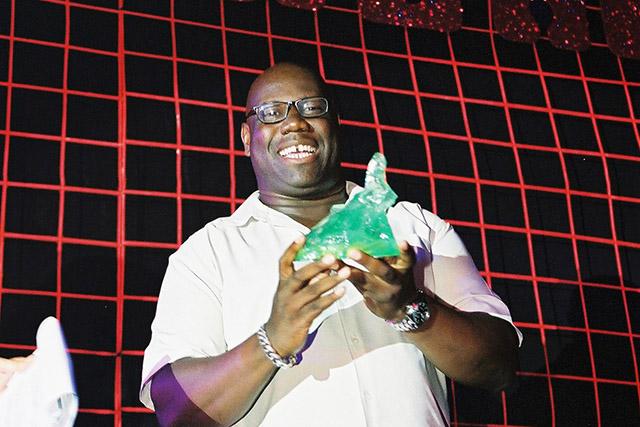 Carl Cox en los DJ Awards Ibiza 2001