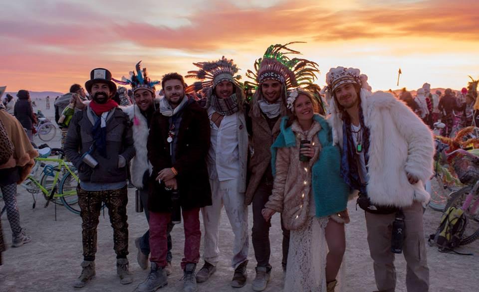 Burning Man 2015: Luis Masi y amigos