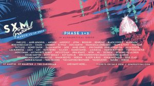 Segunda fase del Line-up SXM Festival