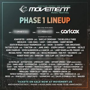 Line-up Movement 2017