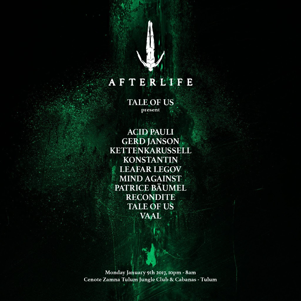 Flayer Evento AfterLife