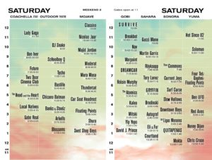 Line-Up Coachella 2017