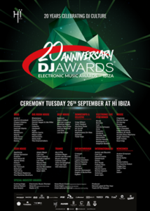 Flyer Dj Awards 2017