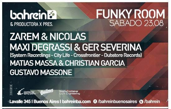 Bahrein 23.08 Funky Room