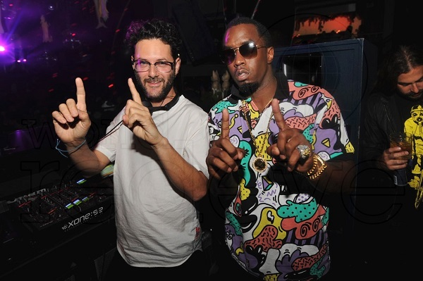 Diddy and Guy Gerber