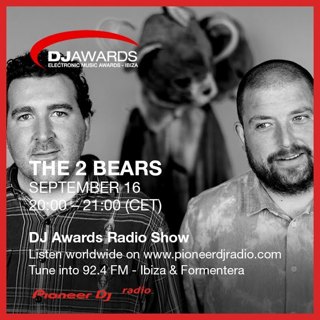 DJ Awards Radio Show The 2 Bears