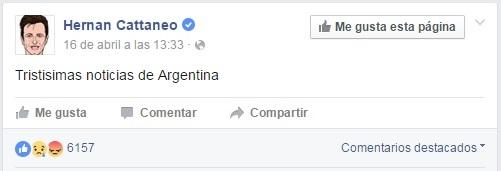 Cortesía: HernanCattaneo Facebook Official