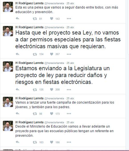 Vía Horacio Rodríguez Twitter