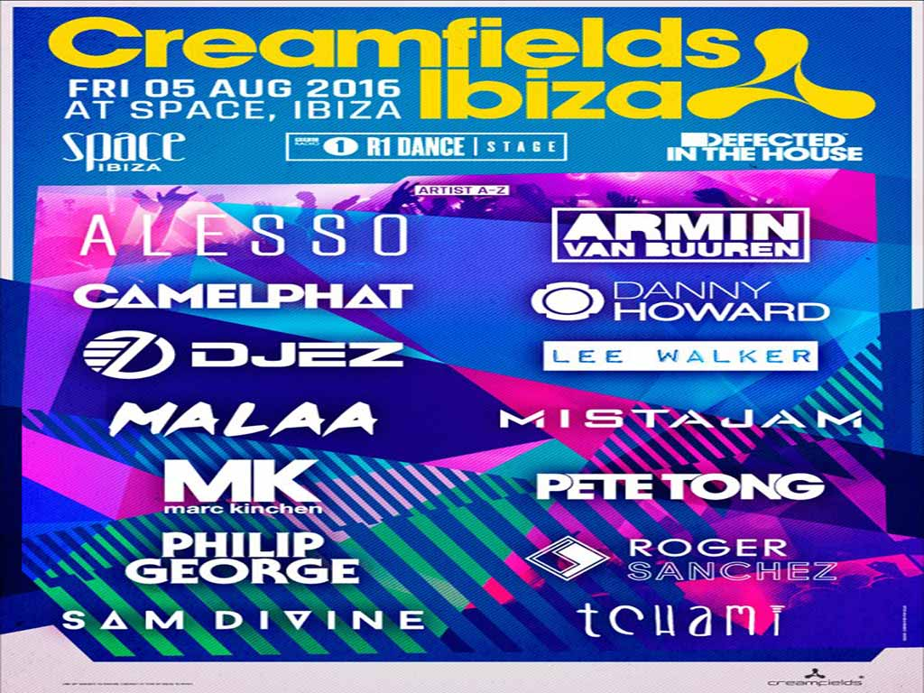 Cortesía: Creamfields facebook Official