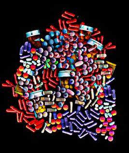 píldoras de drogas
